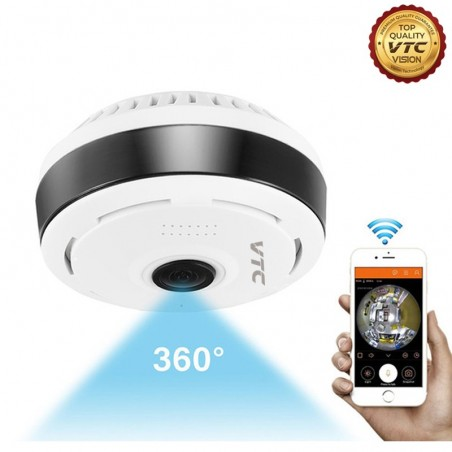 360° Panoramic Fisheye Camera 3D Wireless Security Camera Outdoor Super Wide angle