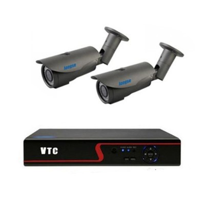 Outdoor AHD Security Camera System 1.3MP, IP66, 4ch DVR Kit